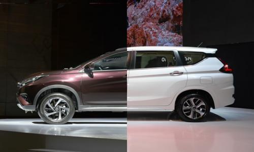 Sự lựa chọn sẽ dành cho dòng xe nào giữa Mitsubishi Xpander và Toyota Rush
