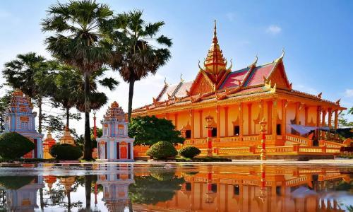 Chùa Xiêm Cán – Khám phá ngôi chùa đẹp nhất Bạc Liêu