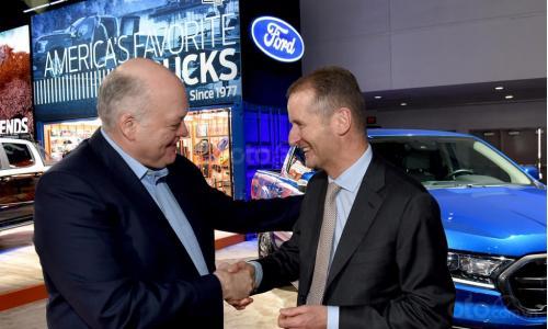 Hợp tác song phương giữa Ford và Volkswagen để cùng sản xuất xe bán tải và xe thương mại
