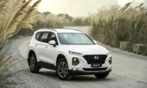 Giá lăn bánh 6 phiên bản Hyundai Santa Fe tại việt Nam