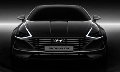 Thiết kế hoàn toàn mới của Hyundai Sonata 2019