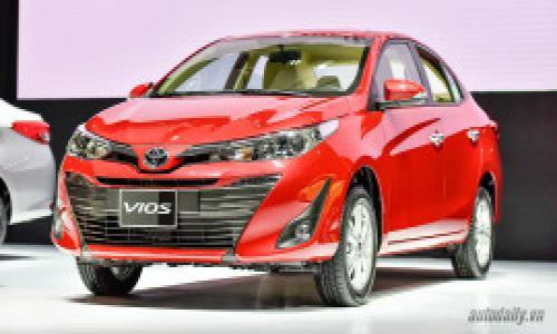 Tháng 2/2019 Toyota Việt Nam bán ra với doanh số 2.300 chiếc